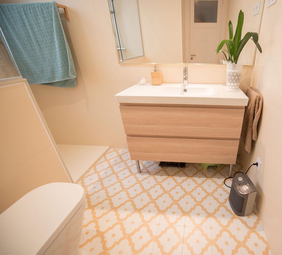 Reforma integral del baño de un piso barcelona