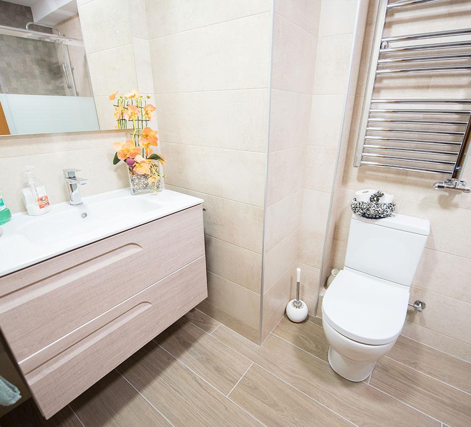 Reforma de baño en casa particular