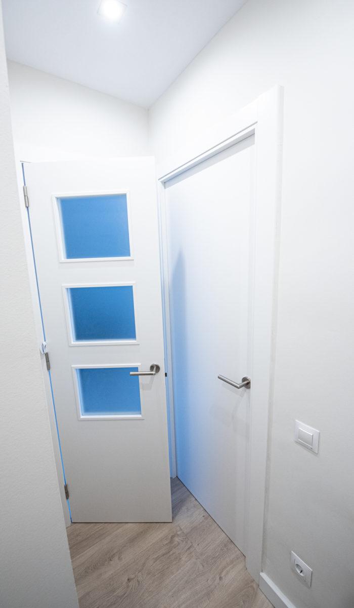 Puertas y pintura