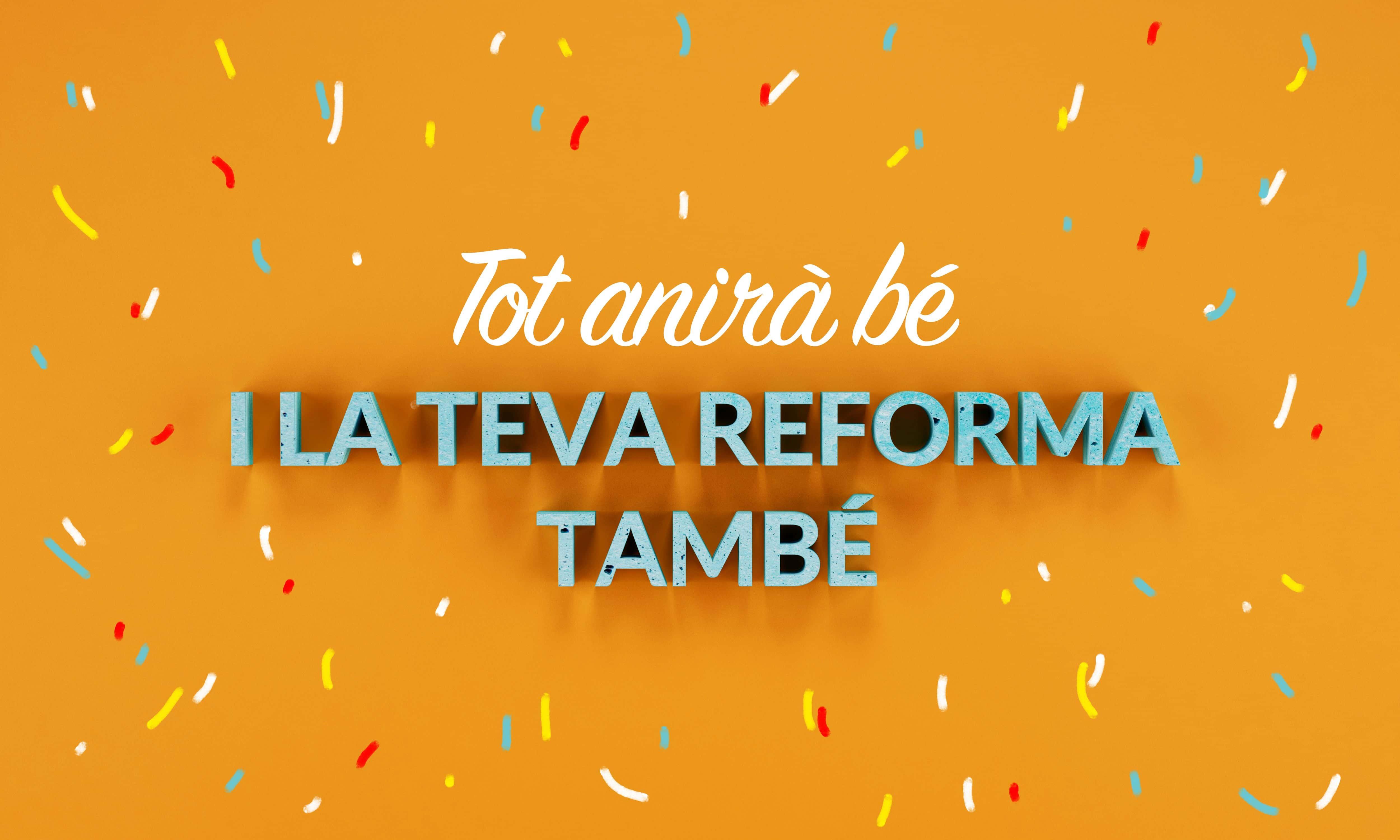 Promoció única pressupostos de reforma integral